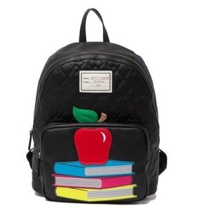 Betsey Johnson An Apple A Day Backpack